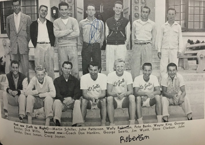 1954boys Team Lajolla High School