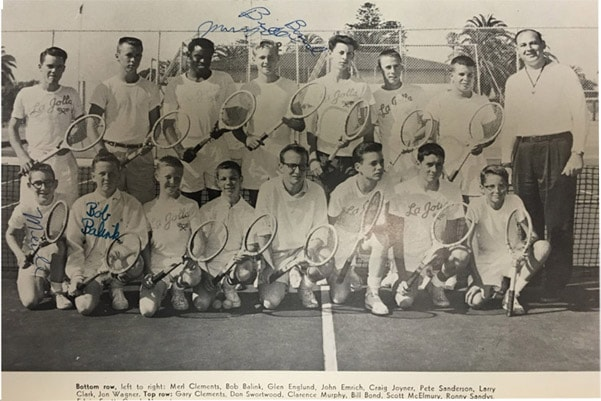 1957boys Tennis Team Lajolla High School