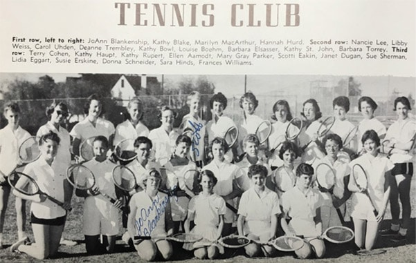 1959 boys Tennis Team Lajolla High School