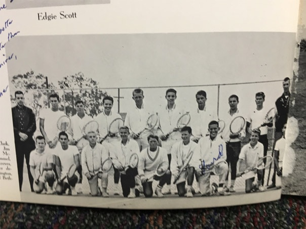 1960Boys Tennis Team Lajolla High School