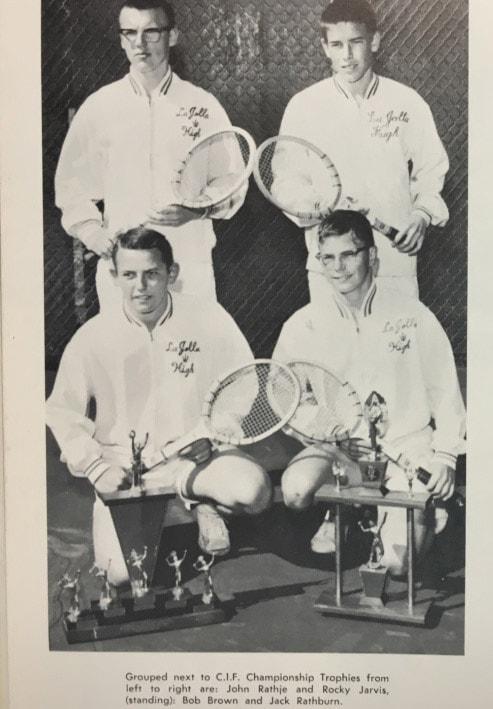 1963 bpys Tennis Team Lajolla High School