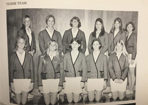 1969 Girls Tennis Team Lajolla High School
