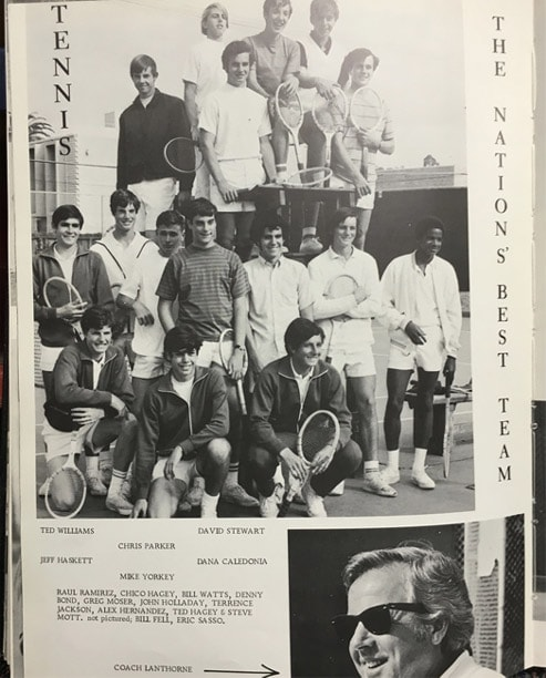 1971 Boys Tennis Team Lajolla High School
