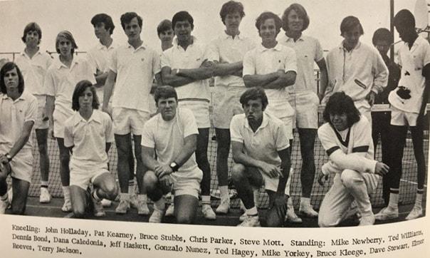 1972 Boys Tennis Team LaJolla High School