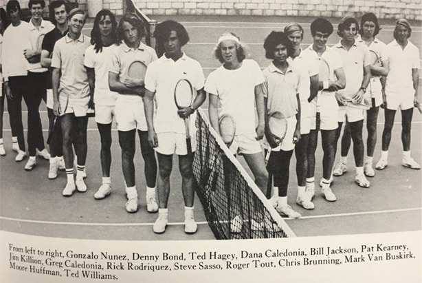 1973 Boys Tennis Team LaJolla High School