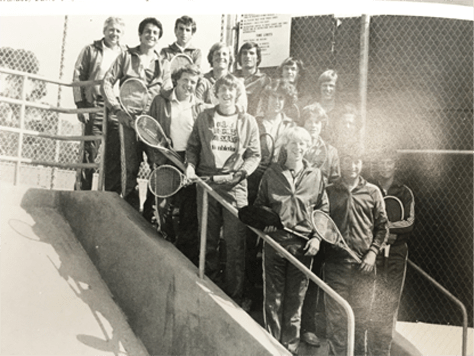 1979 Boys Tennis Team LaJola High School