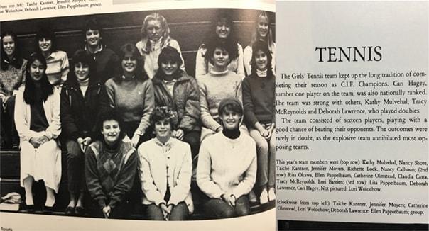 1983girls team lajolla viking