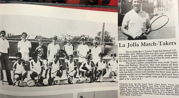 1984 Boys Team Lajolla Vikings