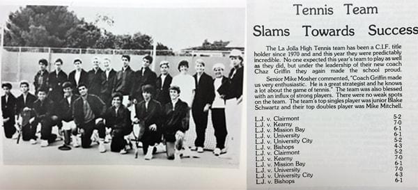 1986 Boys Team