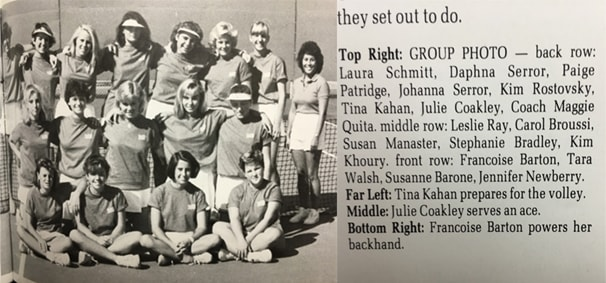 1986 Girls Team